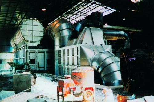 Billet pre-heating furnace