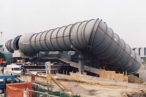 Galleria del vento per auto Formula 1