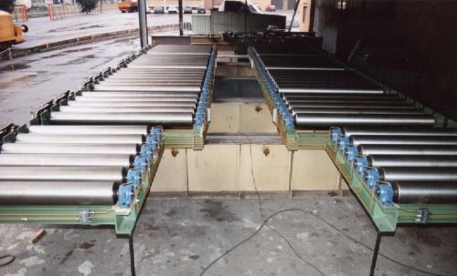 Macchinari per la movimentazione placche di alluminio